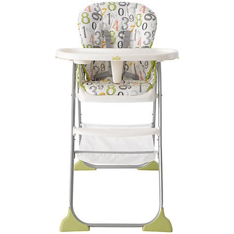 Joie Baby Mimzy Snacker Highchair 123 http://www.parentideal.co.uk/john-lewis---highchairs.html