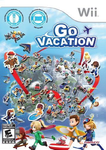 Go Vacation - Nintendo Wii Bandai