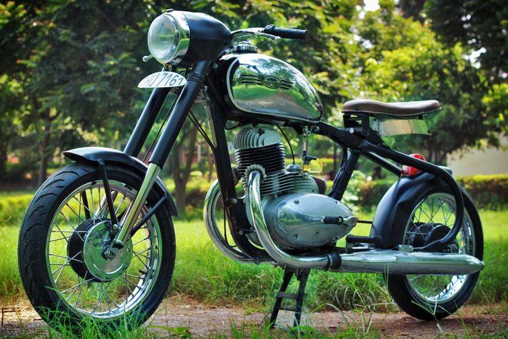 1972 Jawa 250 Racer - Highland CustomMotorcycles - Pipeburn - Purveyors of Classic Motorcycles, Cafe Racers & Custom motorbikes