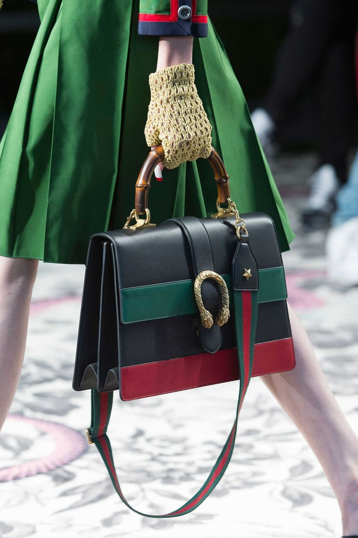 A bag from the Gucci spring 2016 collection. Photo: Imaxtree.