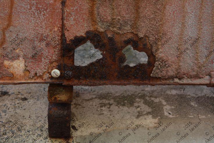 Corrosion ghost eyes.