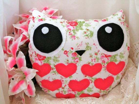 niceOwl Pillows, Owls Cushions, Owls Pillows, Shabby Chic, Chic Owls, Things Owls, Owls Stuff