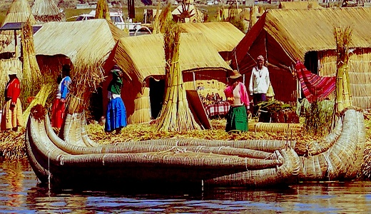 Floating on Lake Titicaca: the world's highest navigable body of water, straddles the border between Peru and Bolivia. To locals, it is a mysterious and sacred place. A 1-hour boat ride from Puno takes you to the Uros Islands, where communities dwell upon soft patches of reeds. Visitors have a rare opportunity to experience the ancient cultures of two inhabited natural islands, by staying with a local family. You won't find any cars or electricity here, but there are remarkable local…