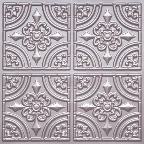 "Decorative Plastic Ceiling Tiles New 18 Best Plastic ""tin"" Ceiling Tile Panels Images On Pinterest Review"