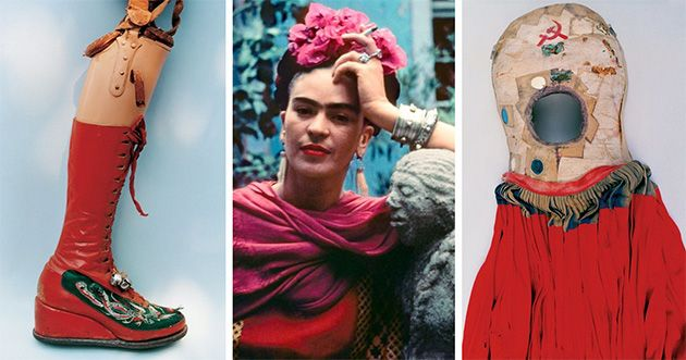After Close To Five Decades, The Hidden Wardrobe Of Frida Kahlo Is Unlocked!