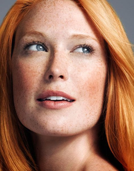 Alise Shoemaker. I don't know who she is but she is a pretty freckled ginger…