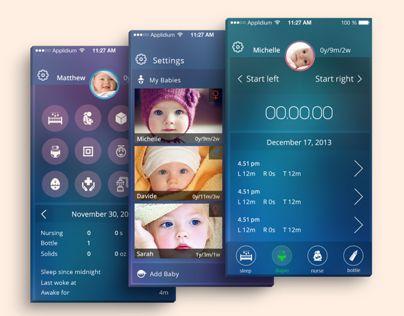 Baby tracking App / iOS7