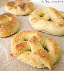 Homemade Soft Pretzels   FaveGlutenFreeRecipes.com - (gluten free pretzel recipe, gluten free snacks)