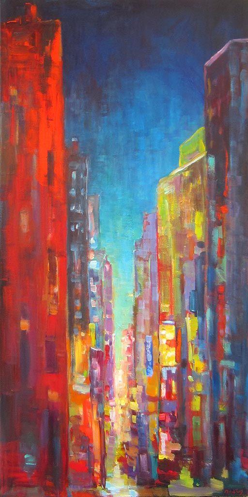 Midnight par Micheal Foers, artiste présentement exposé aux Galeries Beauchamp. www.galeriebeauchamp.com