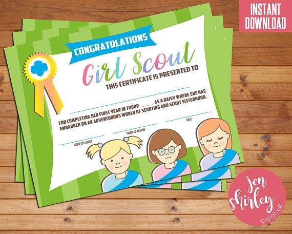 Girl Scouts Bridging Certificate, Girl Scouts Investiture Certificate, Bridge to Daisy, Congratulations, Printable, Instant Download  This instant download is for a Bridge to Daisy certificate for your troops bridging/investiture ceremony. Or just use it for your end of year party.