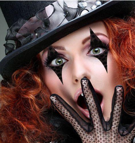 Black-Eye-Makeup-Jester-Stripes-Costume-Xotic-Eye-Wear-Stage-Makeup-Harlequin-US