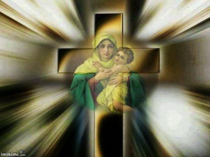 """Maria, Oceaan van Goddelijke Rijkdommen  De Ware Vrede van Christus zal jullie deel zijn. Tot deze Vrede heeft de Vader jullie voorbestemd. Vrees nooit, Ik heb jullie de Vredevorst gebracht."""" waar het Kruis bruiloft sluit met het hart, wordt de ware vrijheid van Gods Liefde geboren."""