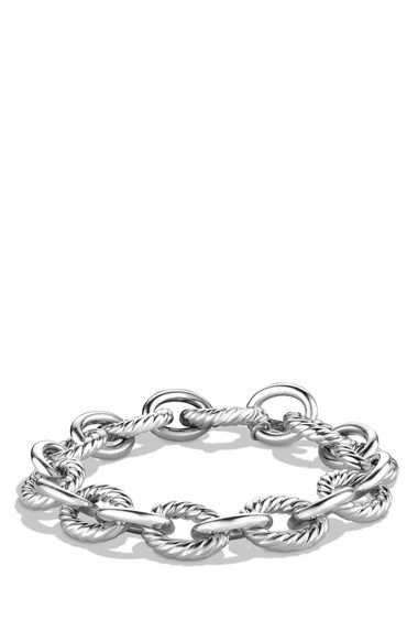 Free shipping and returns on David Yurman 'Oval' Large Link Bracelet at Nordstrom.com. Sterling silver. 12mm wide. Lobster clasp. By David Yurman; imported. $395