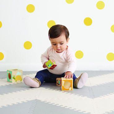 Skip Hop Playspot Geo Grey/Cream Spielmatte #Kinder #Baby #Spielen #Matte #Schutz #Boden #Galaxus