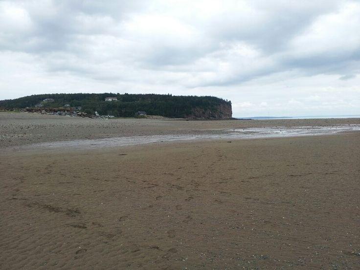 Alma, NB - low tide
