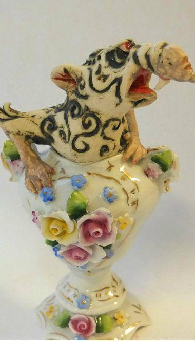 redesign rotte i sukkerskålen, keramikk