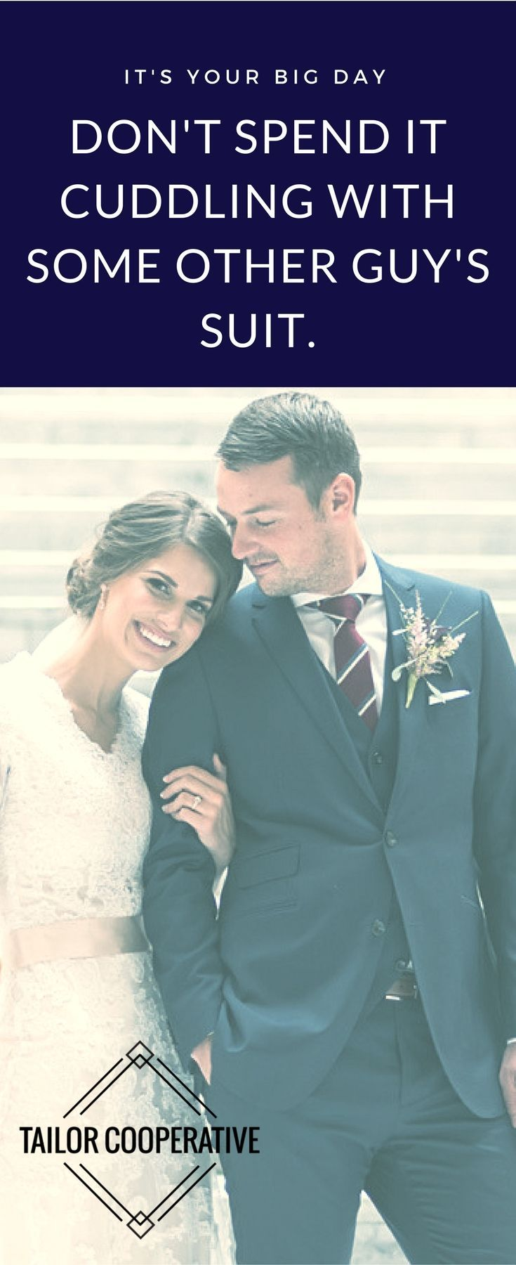 Custom suit for the groom | Wedding Planning | Custom suits are the new wedding rental tuxedo | Tailor Cooperative | Salt Lake City | Utah | Affordable Quality Custom Suits | Groomsmen Suits | Groom's Suit | 4-6 Weeks from Consult to Take Home