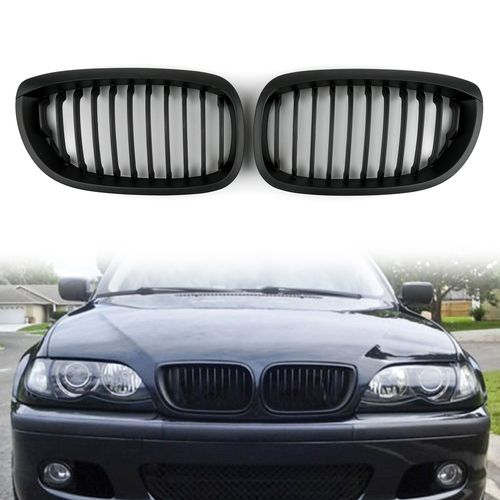 Car Front Fence Grill Grille Bmw E46 2 Doors 2002 2007 3 Series