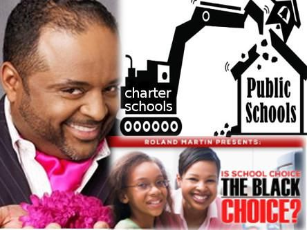 Roland Martin: That Hustla Ova There Tryna Sell Us School Privatization  charter schools    school privatization        propaganda                  by BAR managing editor Bruce A. Dixon   Roland Martin pretends to be a journalist. But what does a guy do when the one ..  http://blackagendareport.com/roland-martin-that-hustla-ova-there   Support The NuBlaXity Documentary Film Project on Indiegogo! igg.me/at/TheNuBlaXityProject