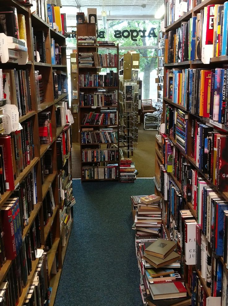 """Argos Book Shop in Grand Rapids from """"A Quick Visit to Grand Rapids"""" at http://www.lifelongmichigander.com/2017/07/a-quick-visit-to-grand-rapids.html"""