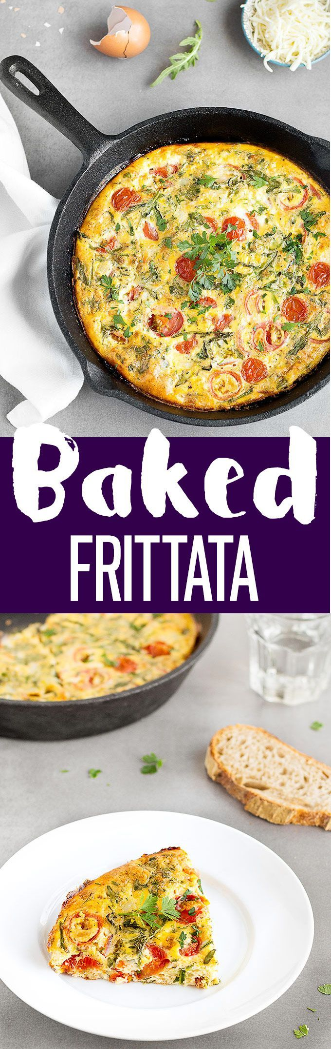 1000+ ideas about Baked Frittata on Pinterest | Frittata Recipes ...