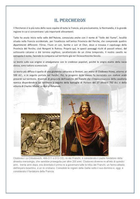 La Vieille écurie: La Storia del Percheron
