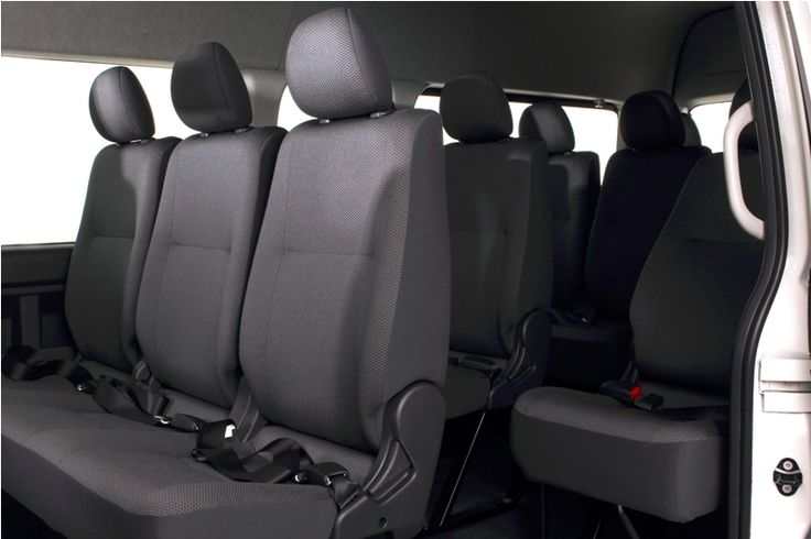 Toyota Auto2000 Hiace Interior Seat Type Commuter