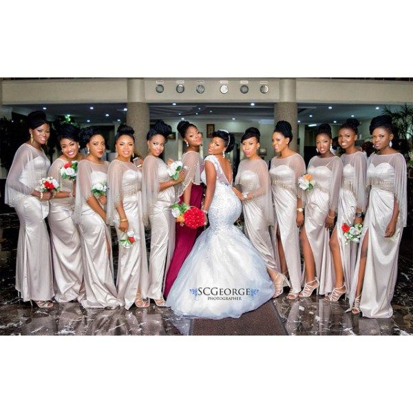 Nigerian Wedding Presents Bukola & Prince Farooq's Glamorous Wedding Photos SC George Photography 29