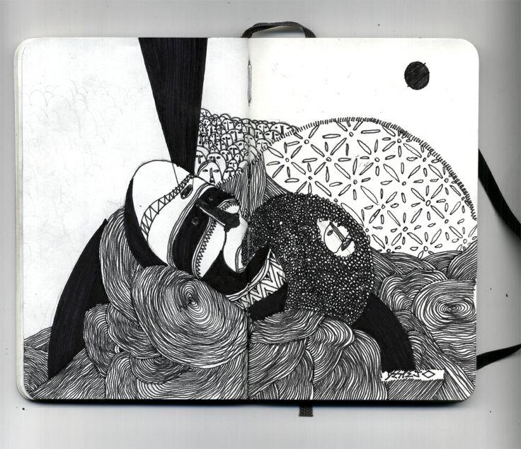 julio vieira sketchbook