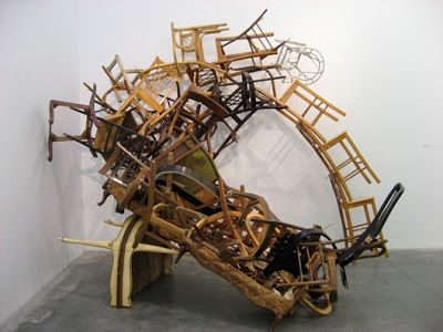 marc andre robinson chair sculpture