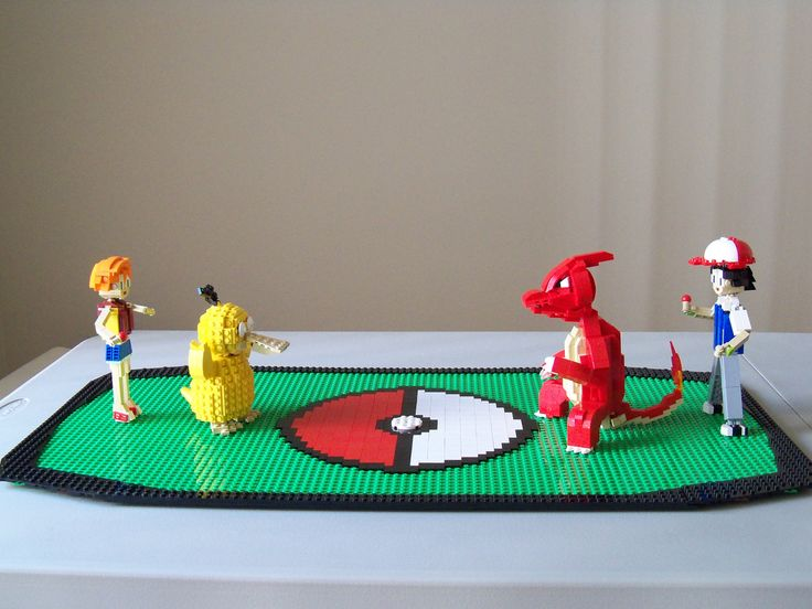 Lego Pokemon Battleground