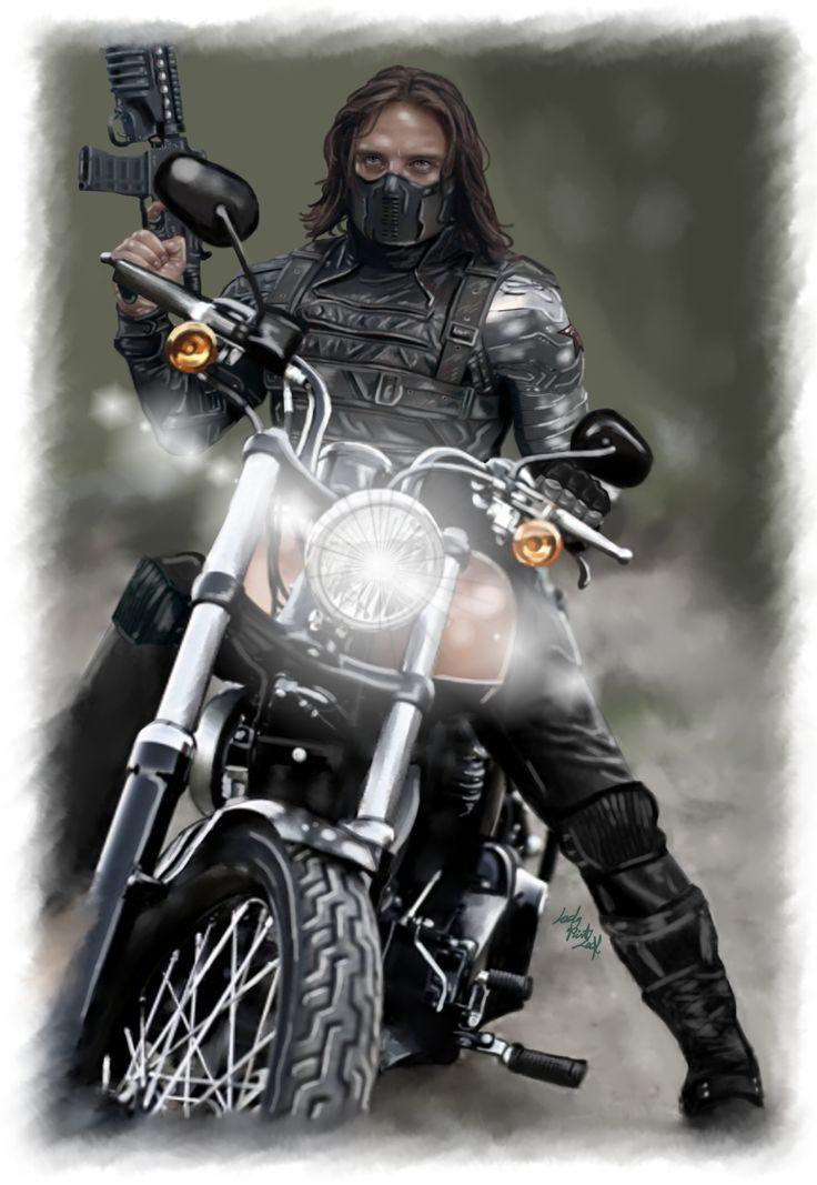 Ladymintleaf Winter Soldier Bucky Winter Soldier Bucky