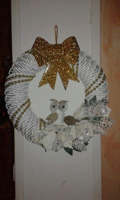 Coronas / ghirlanda natalizia by Santino Cossu  & Ilenia Pintus
