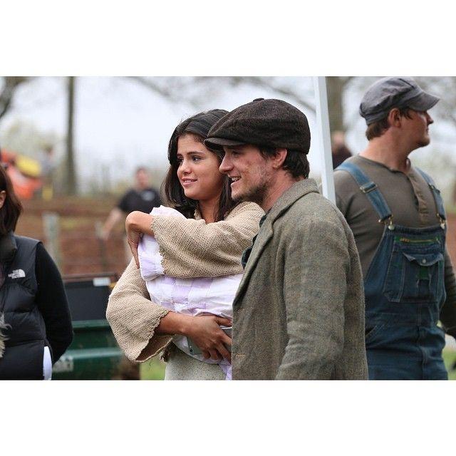 Selena Gomez And Josh Hutcherson Flirting