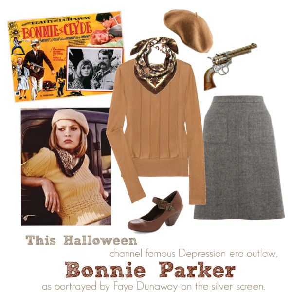 """Bonnie (and Clyde)"" this would be so cute for our costume idea!"