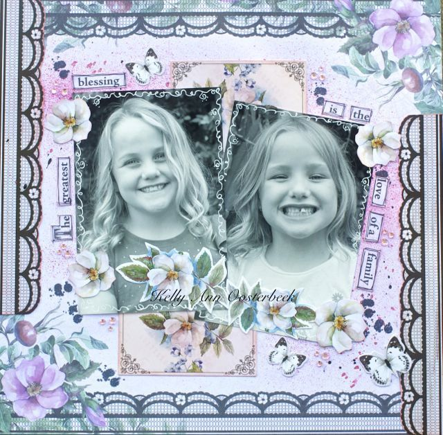 A Layout by Kelly-ann Oosterbeek made using the Magnolia Lane  Collection by Sue Smyth. www.kellyanno.com