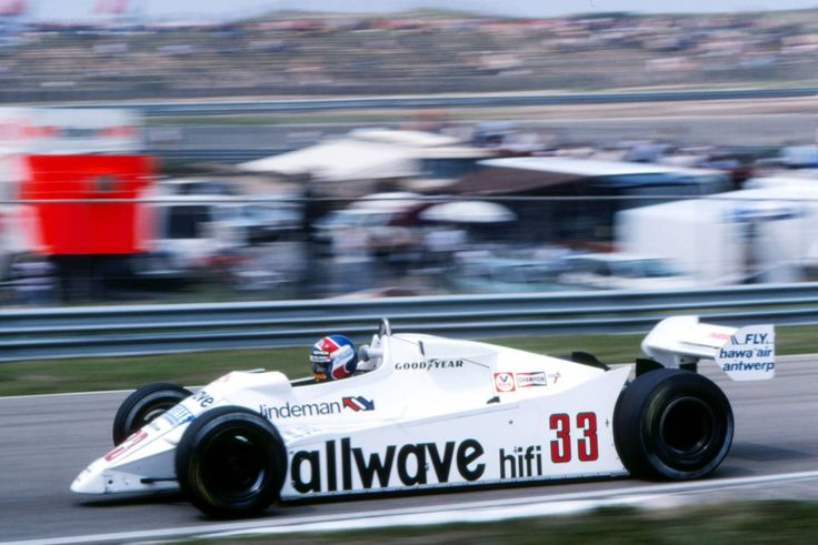 Jan Lammers (Theodore-Ford) Grand prix de Hollande - Zandvoort - 1982.
