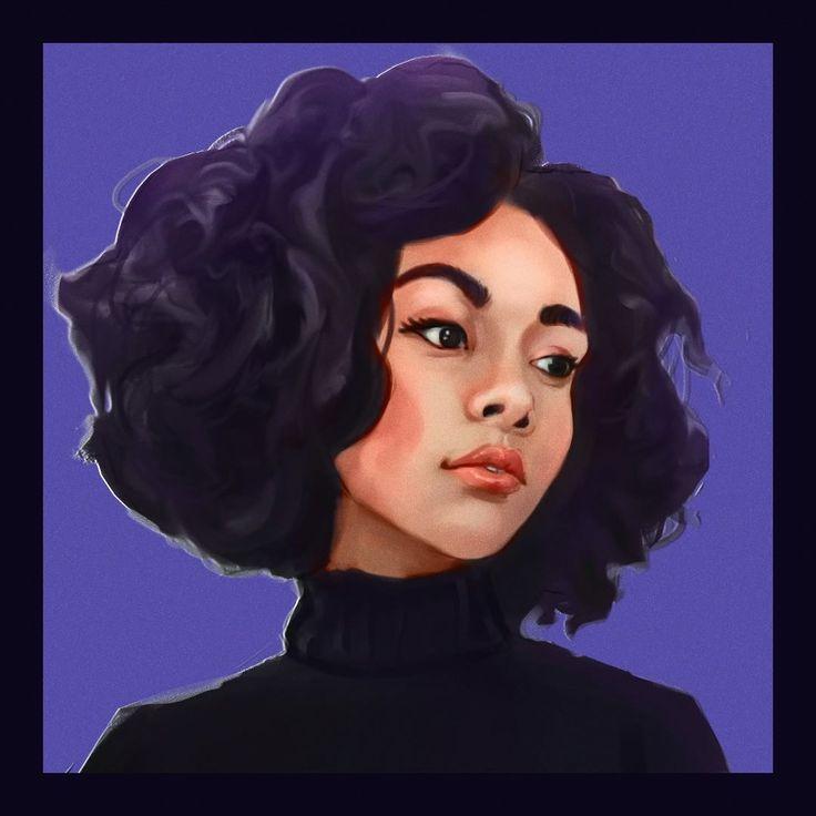 #dailysketch #dailydraw #dailydrawing #facestudy #facestuff #instagirl #digitalart #digitalpainting #valuestudy #stylish #photshop #purplegirl #tumblrgirl #tumblr #lipstick
