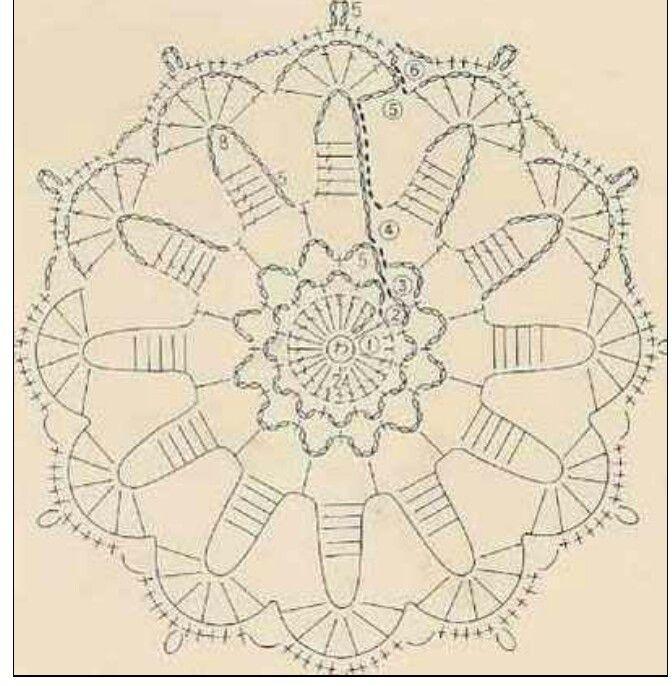 109 Best Crochet Motifs 2 Images On Pinterest Crochet Motif
