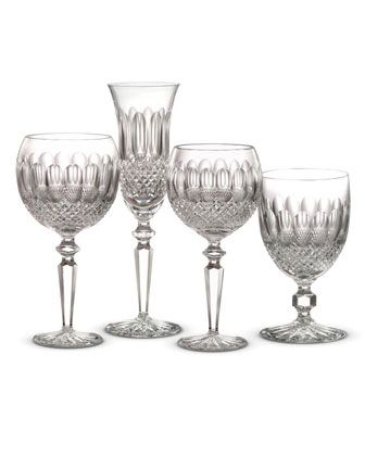 waterford crystal lismore essence red wine glasses for sale john rocha black colleen encore stemware