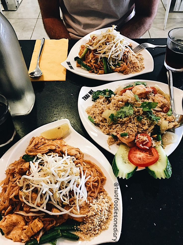 Pad Thai & Fried Rice Heaven from Thai Me, Liverpool, Sydney AUSTRALIA  Follow @twofoodiesonediary on Instagram for more!