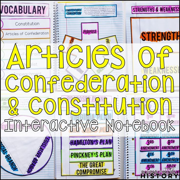 Articles of confederation worksheet high school