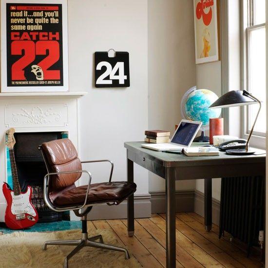 Retro home office   Modern home offices   housetohome.co.uk