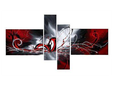 AliExpress Gaga Ofertas abstracta moderna pintura al óleo lienzo 160x ...