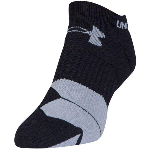 Under Armour Women's Run Cushion Tab Socks ($13) ❤ liked on Polyvore featuring intimates, hosiery, socks, moisture wicking socks, under armour socks, wicking socks, sweat wicking socks and arch support socks