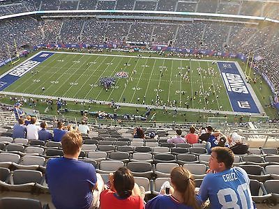#tickets 2 Tickets - New York Giants vs Los Angeles Rams: Sec. 312U (4th Row in Sec.) please retweet