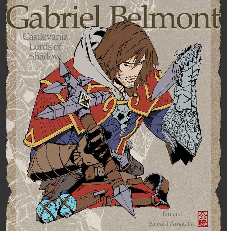 Gabriel Belmont by SatoakiAmatatsu