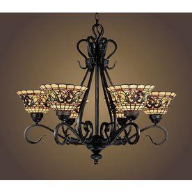 51 best antique lighting images on pinterest chandeliers antique westmore lighting 6 light tiffany buckingham vintage antique chandelier aloadofball Choice Image