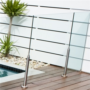 GLASS FENCE Bunnings $98.5
