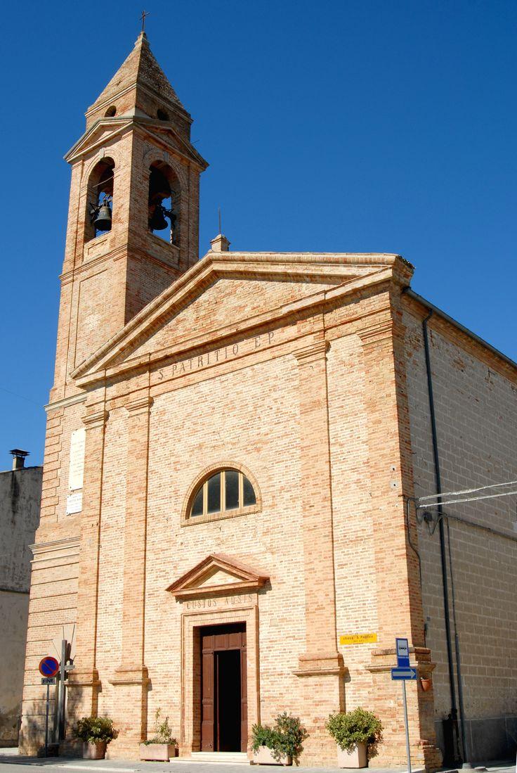 Chiesa di S. Patrizio fine 800  #marcafermana #campofilone #fermo #marche